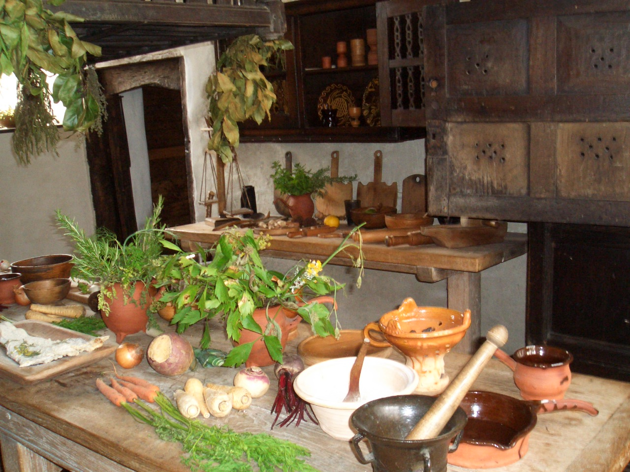 Kitchen With Food slide show for album :: north wales 20-24 july