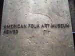Highlight for Album: April 13th Last Day - more Museums Folk Art & Frick