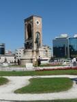 09Aug14 Istanbul 02 Tour Istiklal - Taksim Sq Republic Monument.JPG