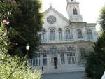 09Aug14 Istanbul 07 Tour Istiklal - Aya Triada Greek Orthodox Church.JPG