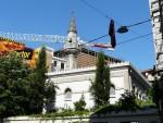 09Aug14 Istanbul 11 Tour Istiklal - Huseyin Aga Mosque.JPG