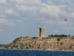 09Aug16 at sea 02 Dardenelles Galllipoli Turkish Memorial.JPG