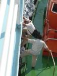 09Aug16 at sea 05 Aegean Sea pilot leaving ship.JPG
