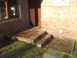 2011 Nov 11th Punta cleaned porch step.JPG