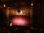 2012 March 9th Oakland Paramount Theater Vertigo 06  theater curtain & organ.JPG