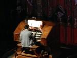 2012 March 9th Oakland Paramount Theater Vertigo 07 organist.JPG