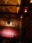 2012 March 9th Oakland Paramount Theater Vertigo 08 curtain & ceiling.JPG