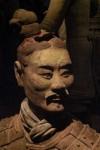 2013 Apr 30 SF Asian Art - Terracotta Warriors 07b Armored Kneeling Archer